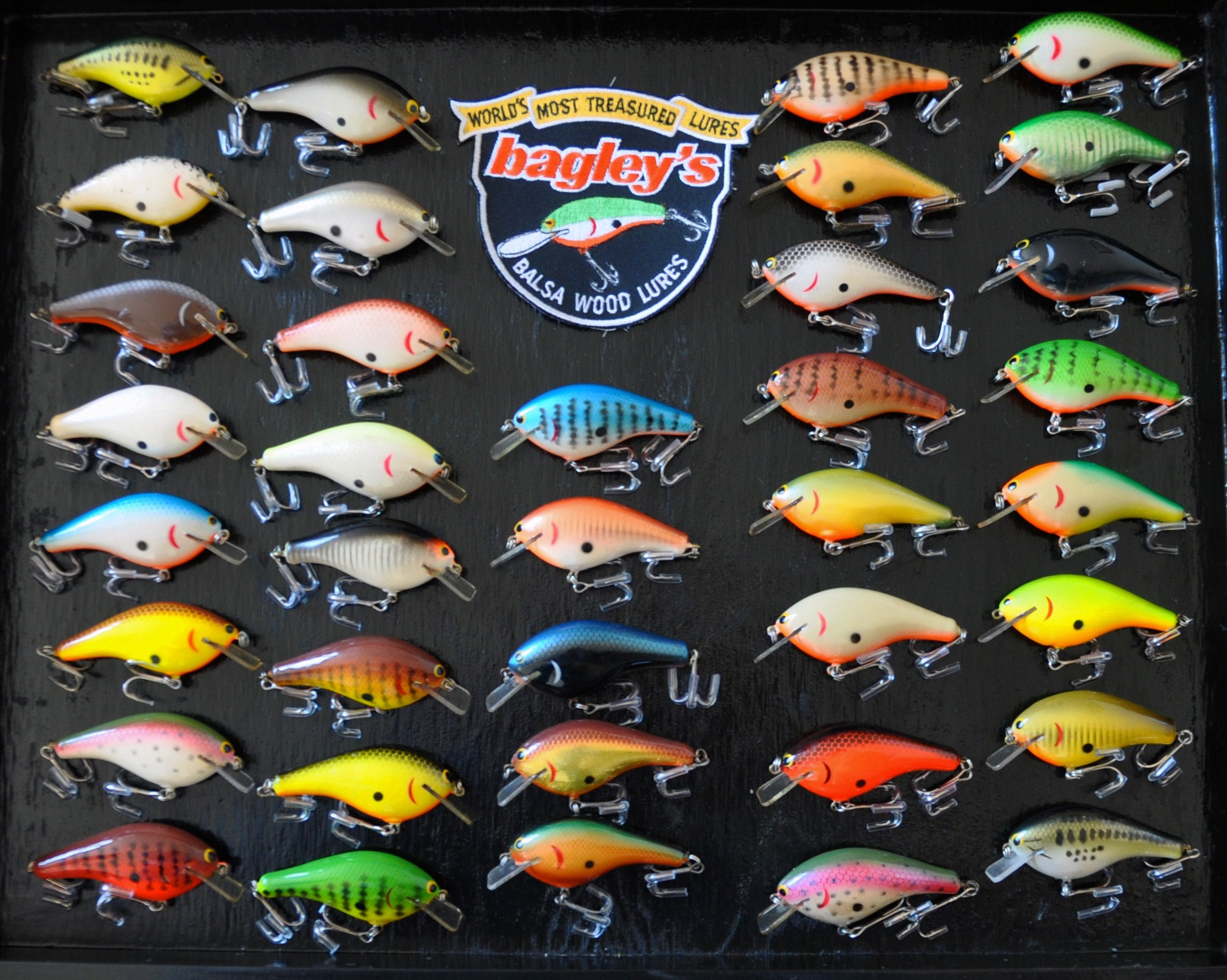 Bagley Lure Collections Amp Descriptions The Colors Of