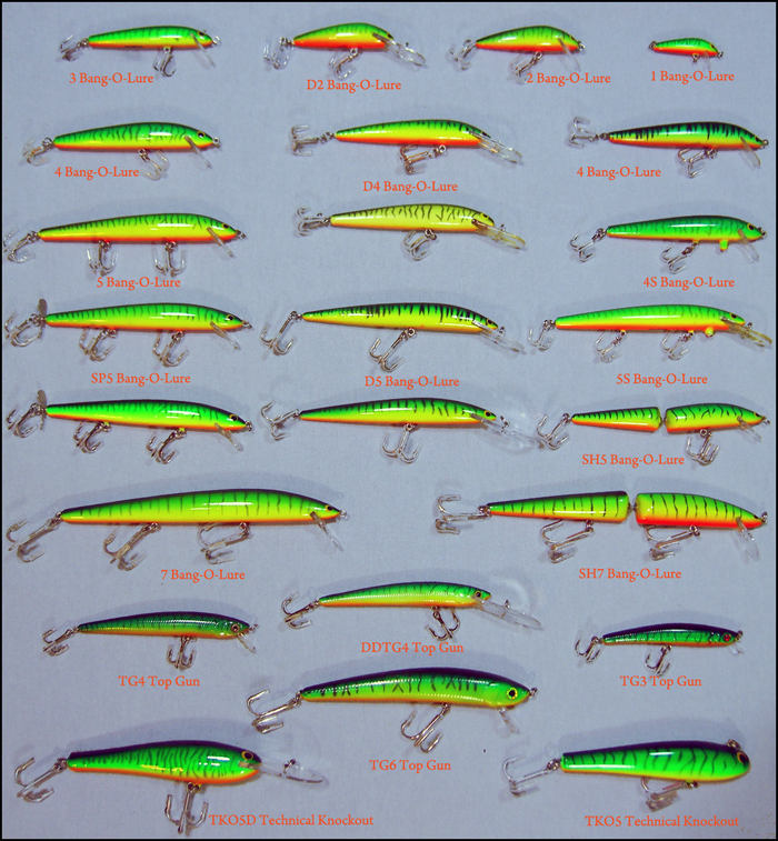 Hot Tiger Jerk Baits