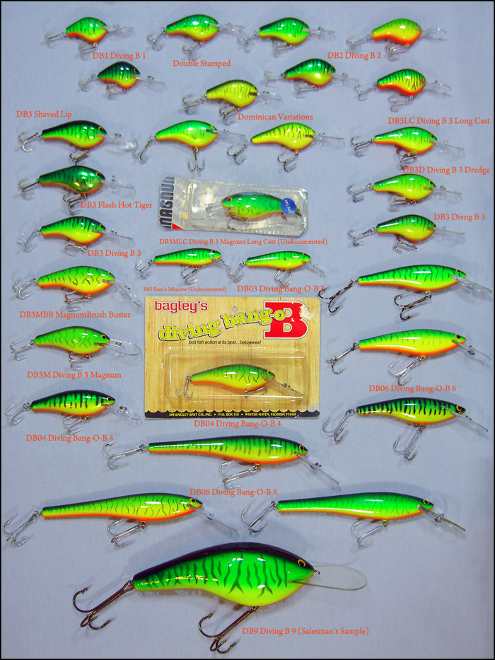 Hot Tiger Diving Baits