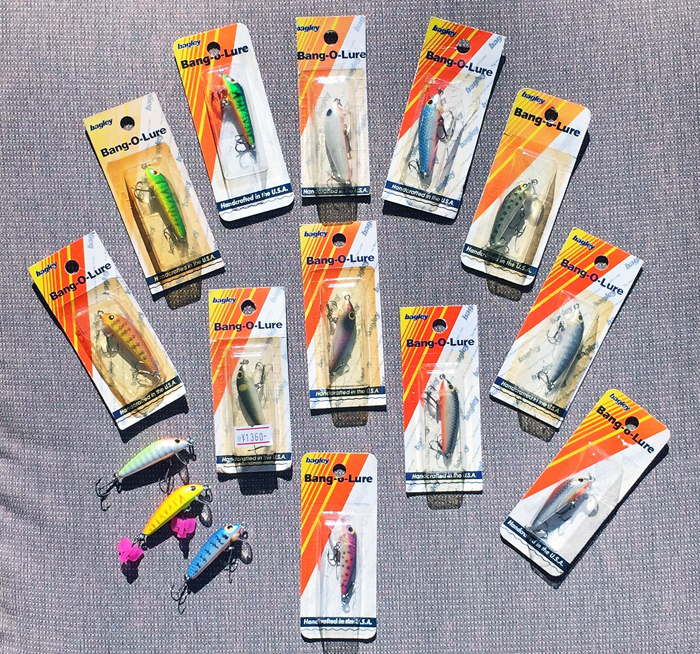 One Inch Bang-O-Lure Collection