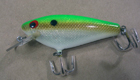Bagley Small Fry Shad 6M4SF (Green Mustard Net/Silver Foil/White Belly)[7]