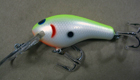 Bagley Diving Killer B 2 94 (Chartreuse on White)[7]