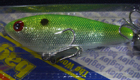 Bagley Spin'R Shad 94SF (Chartreuse/Silver Foil/White Belly)[9]