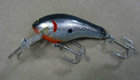 Bagley Diving Killer B 2 BSOT (Black on Silver Foil/Orange Throat)[4]