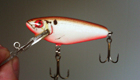 Bagley Small Fry Shad CW (Crayfish on White)[5]