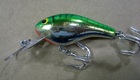 Bagley Diving Killer B 2 F69S (Green/Chartreuse on Silver Chrome)[5]