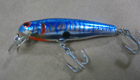 Bagley Mighty Minnow F7TS (Blue Tiger Stripes)[8]