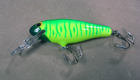 Bagley Bass'N Shad FRG9 (Flourescent Green on Chartreuse)[8]