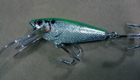 Bagley Small Fry Shad 6S (Green on Silver)[6]